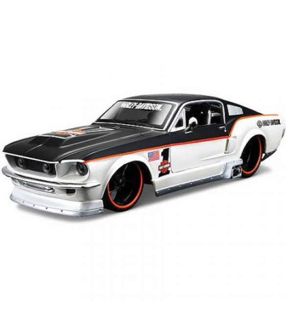 Maisto 1:24 Scale Harley Davidson Ford Mustang GT 1967
