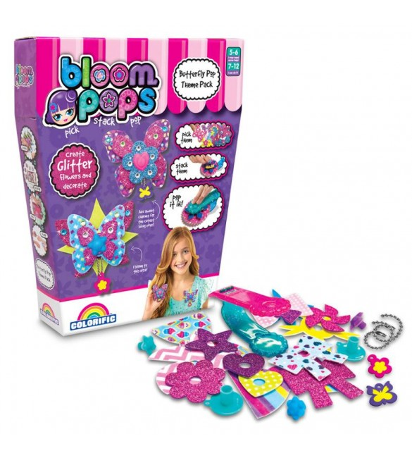 Bloom Pops Butterly Theme Pack