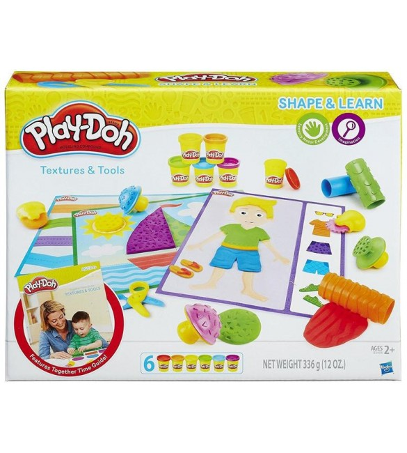 Play-Doh Textures and Tools