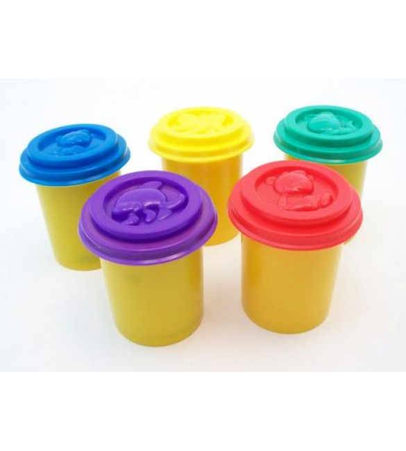 Cra-Z-Art Softee Dough Bright Colors, 5-Pack