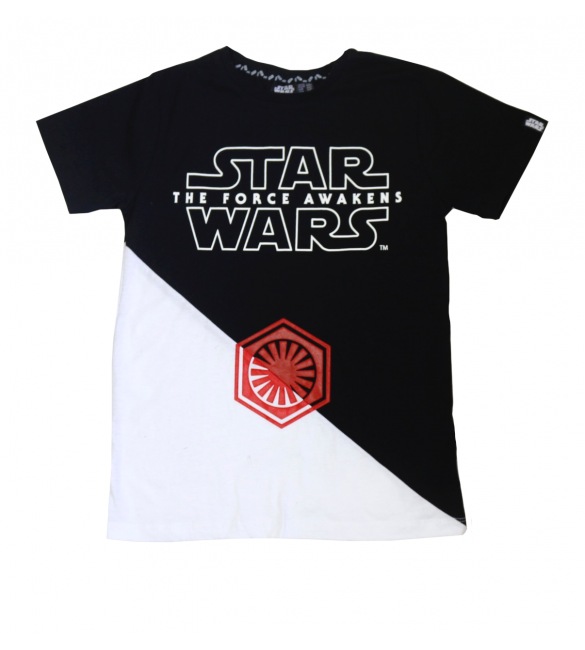 Black And White Star Wars T-Shirt