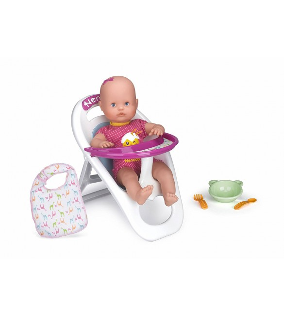 My little Nenuco doll with high chair 35 cm