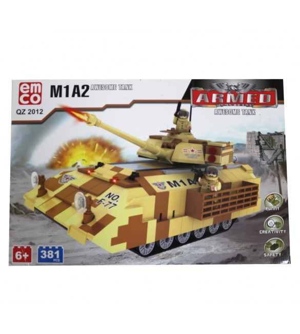 EMCO M1A2 AWESOME TANK 381 PCS