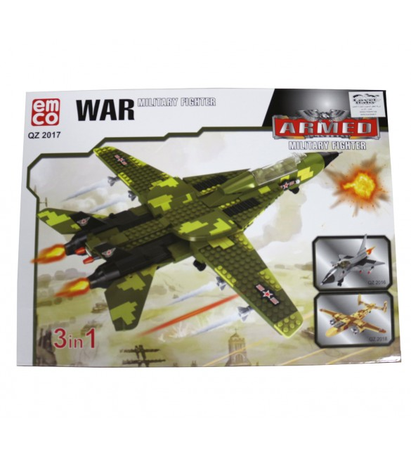 EMCO WAR MILITARY FIGHTER 442 PCS