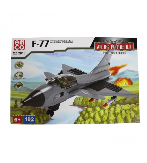 EMCO F-77 MILITARY FIGHTER 192 PCS