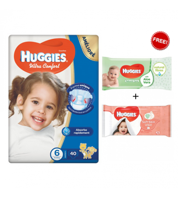 Huggies Jumbo Diapers Size Size (6) 1X3 Wipes Offer