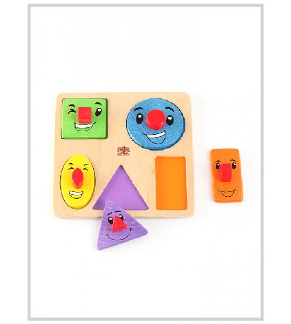 Edu Fun Funny shapes board