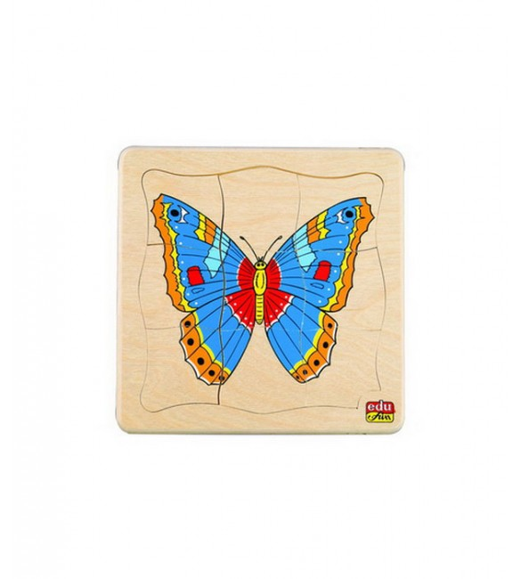 Edu Fun See How They Grow Puzzles (Butterfly)