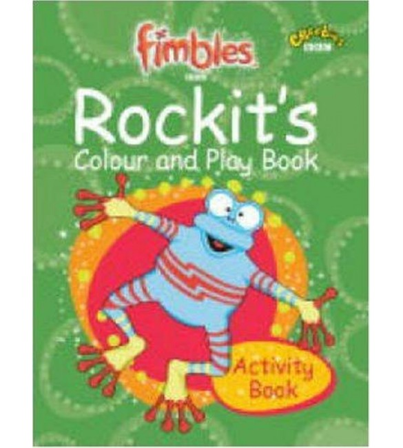 Fimbles : rockits color and play book