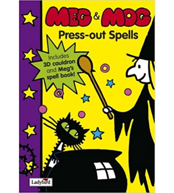 Meg and Mog Press-out Spells
