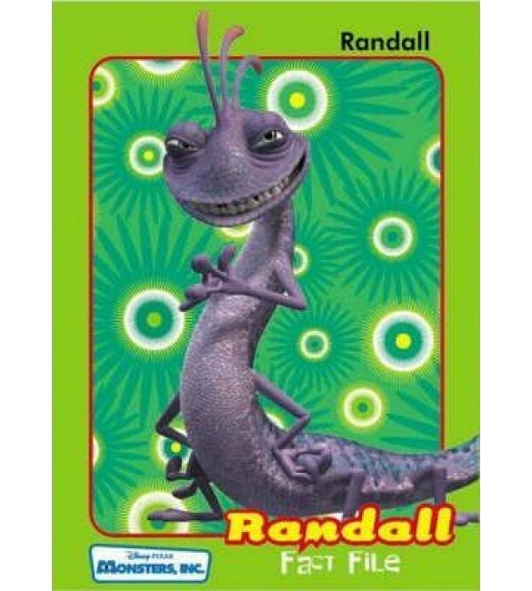 Monsters Inc: Fact File: Randall
