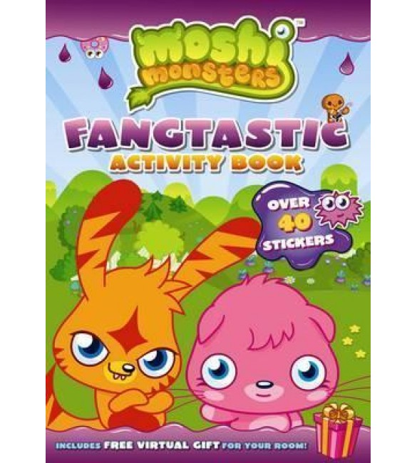 Moshi Monsters Fangtastic Activity Book with Stickers