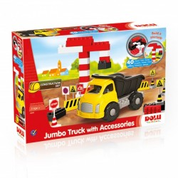 Dolu Jumbo Truck With Blocks 40 PCS