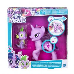 Hasbro My Little Pony Princess Twilight Sparkle Spike the Dragon Friendship Duet