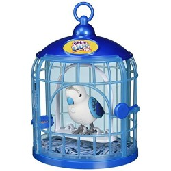 Little Live Pets S4 Bird With Cage Prince Charmer