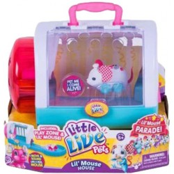 Little Live Pets S4 Lil' Mouse House Chef Twitchy