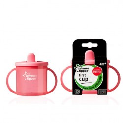 Tommee Tippee Essentials First Cup, Pink