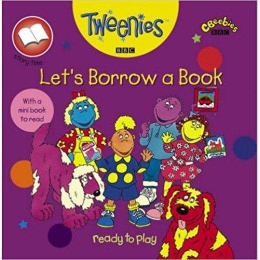 "A Surprise Storybook: Lets Borrow a Book (""Tweenies"")"