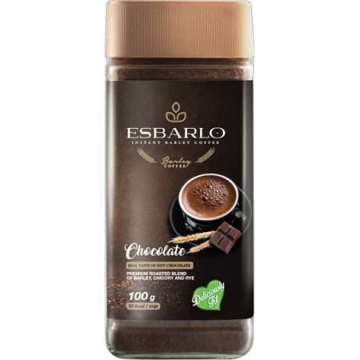 Esbarlo Instant Barley Coffee - Chocolate (100gm)