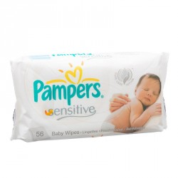 Pampers Baby wipes Sensitive 56's