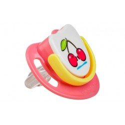 Pigeon Silicone Pacifier Step 3 - Cherry