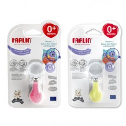 Farlin Doctor J. Deluxe Nail Clipper with Magnifier
