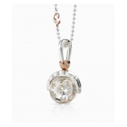 Le Bebe Silver Ball Necklace