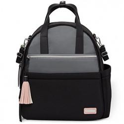 Skip Hop Nolita Neoprene Diaper Backpack, Black/Grey