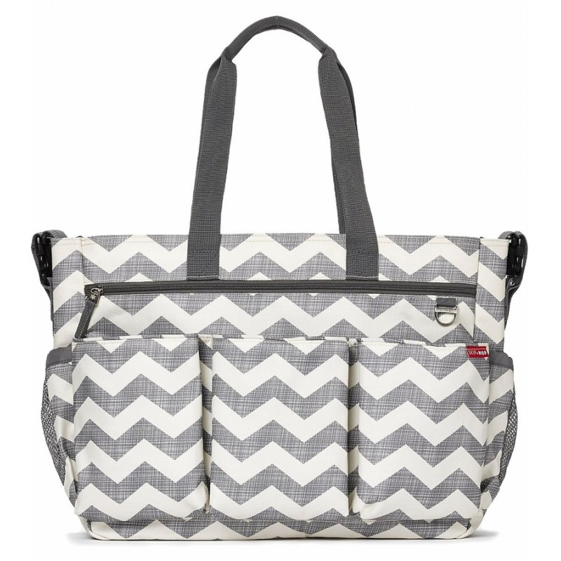 Skip Hop Twins Signature Baby Changing Ny Bag Double Duo Chevron