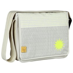Lässig Casual Messenger Bag  Dots And Strokes - Sand