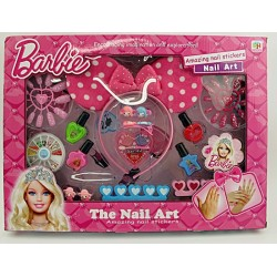 BARBIE NAIL ART SET