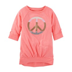 Carter's Sparkle Tunic (2-4 years old)-Pink