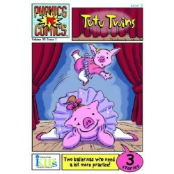 Innovative Kids - TUTU TWINS (Phonics Comics)