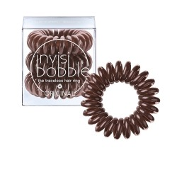 invisibobble hair tie - 3 Pieces ORIGINAL Pretzel Brown
