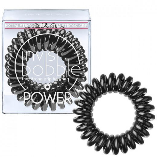 invisibobble hair tie - 3 Pieces of POWER True Black