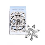 invisibobble hair tie - 3 Pieces of NANO Crystal Clear