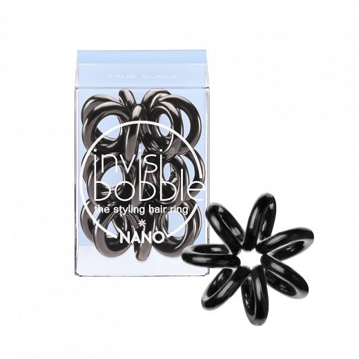 invisibobble hair tie - 3 Pieces of NANO True Black