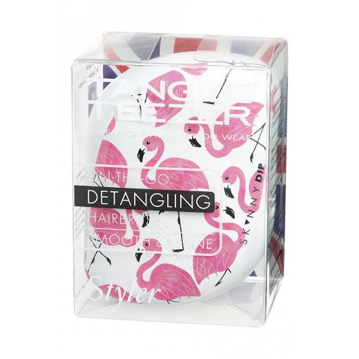 Tangle Teezer Compact Styler - Skinny Dip - White Flamingo