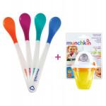 Munchkin Hot Safety Spoons & Fresh Food Feeder Offer