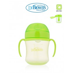 Dr. Brown's Soft Spout Transition Cup-  Green