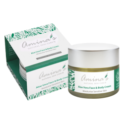 Amina's Aloe Vera Face & Body Cream 120ml