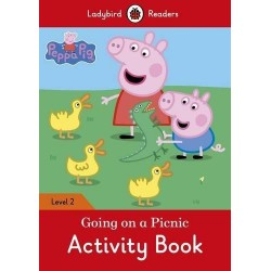 Ladybird Readers -Peppa Pig: Going on a Picnic Activity Book  Level 2
