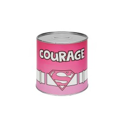 Super Women Piggy Bank - Courage - English