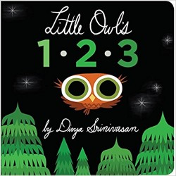 Little Owl's 1-2-3 - English