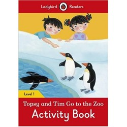 Ladybird Readers Level 1 - Topsy and Tim: Go to the Zoo Activity Book
