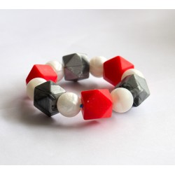 Baby Holder - Teething Bracelet with Mixed Beats