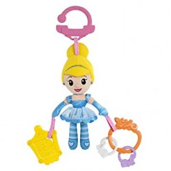 Chicco Disney Princess Cinderella Pushchair, Pram and Stroller Clip-on Doll Toy