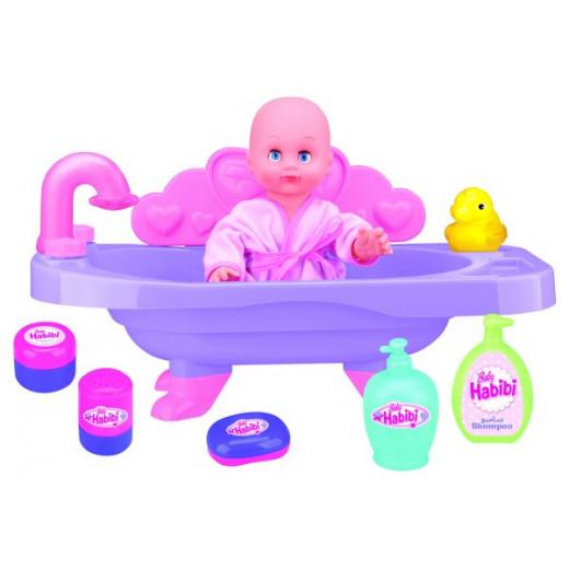 Baby Habibi Bathtub With Doll