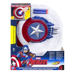 Avengers Infinity War  Marvel Captain America Blaster Reveal Shield