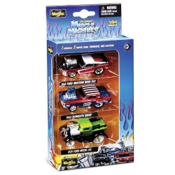 Maisto Muscle Machines 1:64 Scale - Set Of 3 Diecast Cars